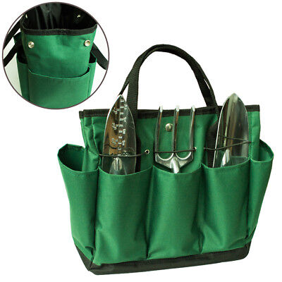 Multifunctional Portable Oxford Cloth Garden Tool Set Kit Bag with 8 Pockets