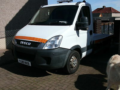 Iveco daily 35s11   recovery truck 13 month test 100k  10 plate  15foot body