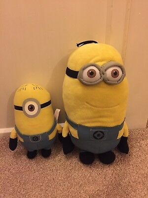Despicable Me 2 Minions Soft Toys Kevin Dave Kids Film Movie Characters Lot