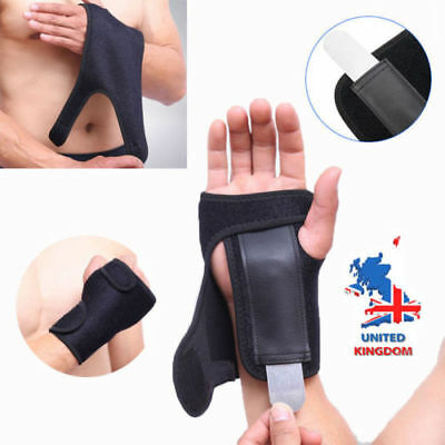 Wrist Hand Brace Protection Support Splint Arthritis Sprain Stabilizer Strap L/R