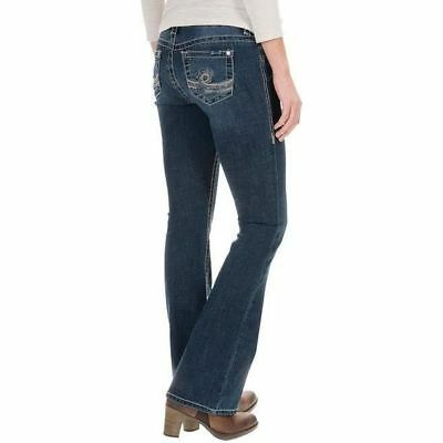 Melissa McCarthy Seven7 Stretch Boot-Cut Jean  Size 12 NEW  $74
