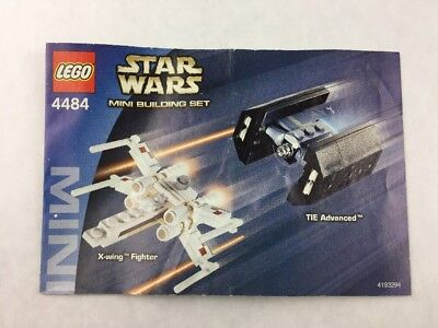 Lego Star Wars X Wing Fighter Instructions 794 Picclick Ca