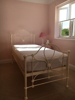 Laura Ashley Single 3ft Ivory Cream Bed Frame