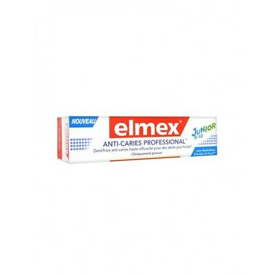 Elmex Dentifrice Anti-Caries Professional Junior 75ml