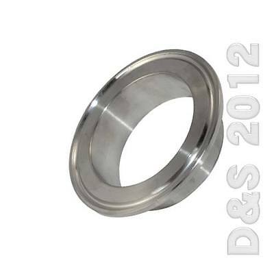 "2"" 51MM OD Sanitary Pipe Weld on Ferrule Tri Clamp Type Stainless Steel 304 UK"