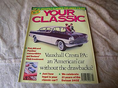 YOUR CLASSIC (CAR) MAGAZINE FEBRUARY 1990 50 useful classic car buys CRESTA