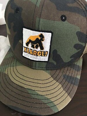 XLARGE NEW ERA WALKING APE PATCHED SNAPBACK CAP Camo New Justin Bieber 99563a0872ae
