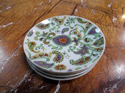 """Chinese Export Porcelain Plates Set of """"Four"""""""