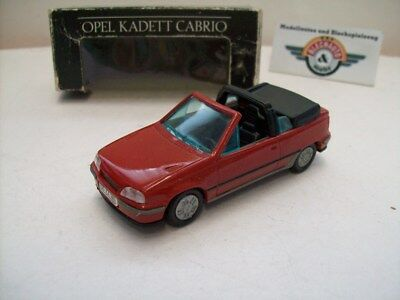 Opel Kadett E GSi Cabrio, 1985, red, Opel Dealer (Gama, W. Germany) 1:43, OVP