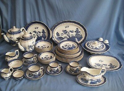 Royal Doulton BOOTHS REAL OLD WILLOW - 56 VARIOUS ITEMS AVAILABLE - EXC COND