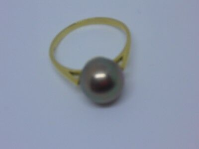 Ring 750 Gold Perle, 19