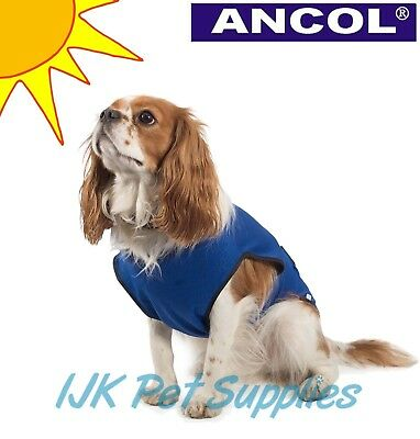 Ancol Dog Cool Cooling Coat Vest for Hot Days