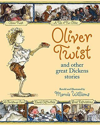 Oliver Twist and Other Great Dickens Stories by Marcia Williams, New 20 copies