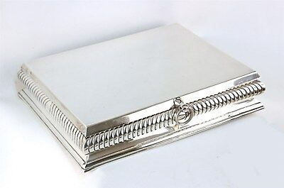Large Tane Mexico Sterling Desk / Cigar Box Lunt Gallery