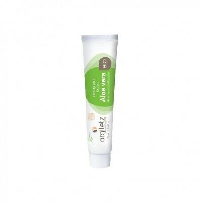 Argiletz Dentifrice Nature Aloe Vera Bio 75ml