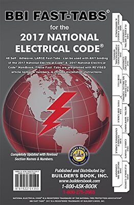 Nec 2002 national electrical code book 1200 picclick 2017 national electrical code nec fast tabs for softcover builders book inc new fandeluxe Gallery