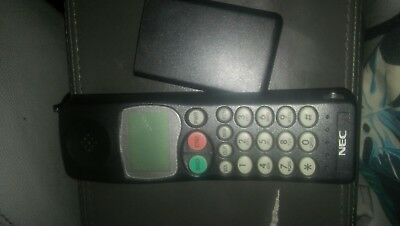 NEC vintage cell phone late 90's model ☎ mp5a1f4-1a