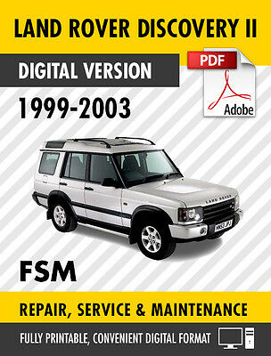 1999 2003 land rover discovery 2 ii factory service repair manual rh picclick co uk 1999 land rover discovery 2 owners manual 1999 land rover discovery service manual