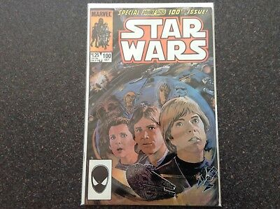Star Wars #100 NM 1985 Special Double-Sized Issue