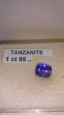 Exceptionnelle Tanzanite Veritable Naturelle