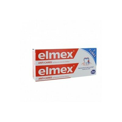 Elmex Dentifrice Protection Caries Lot de 2 x 75ml