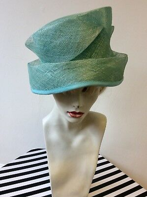 Windsmoor Turqouise Pleated Band  Formal Hat