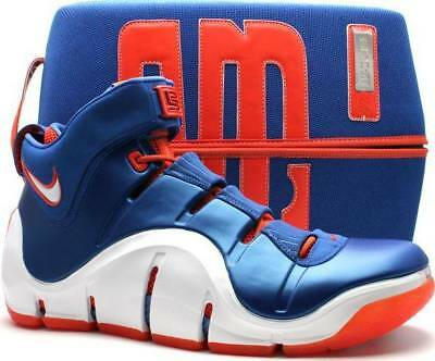 fb564f638ab1 Nike Zoom LeBron 4 IV Birthday New York Knicks Size 13. 314647-511 kyrie