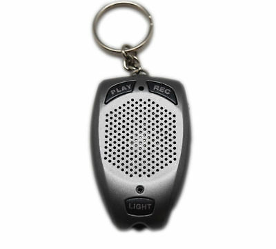 2 in 1 Portable Keychain Digital Voice Recorder And LED Flashlight
