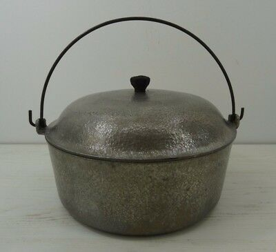 Vintage Club Hammercraft Dutch Oven 4.5 Quart Lid and Bail Handle