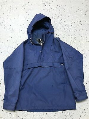 VTG 70s 80s Mens North Face Goretex Pullover Jacket Large Waterproof