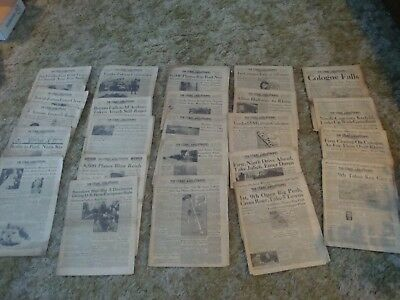 Lot of 24 WWII Stars and Stripes - All 1945