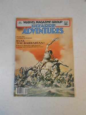 Bizarre Adventures #26 May 1981, Marvel magazine group Kull the Barbarian