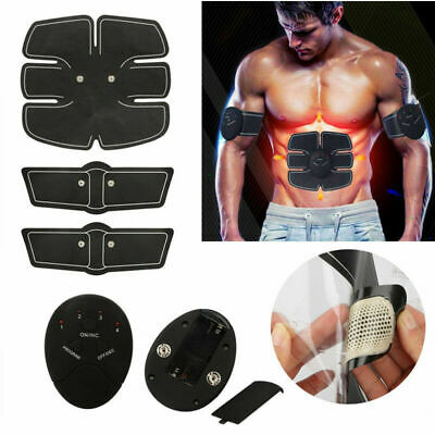 Smart Abs Stimulator Abdominal Muscle Toning Pads Fitness Trainer EMS Training