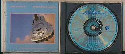 Dire Straits - Brothers in Arms, Made in Japan by Daio Kosan, Rare CD!