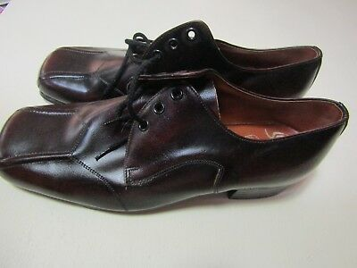 vintage/retro mens leather shoe rockabilly💙SLATTERS💙as new NEVER WORN aus made