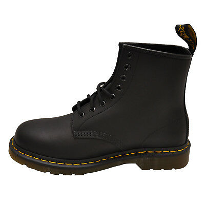 DR. MARTENS 1460 8 Eye Boot Black Greasy Men s Leather 11822003 -  108.00  28f7c502f973
