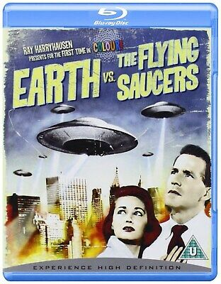 Earth Vs the Flying Saucers [Blu-ray]