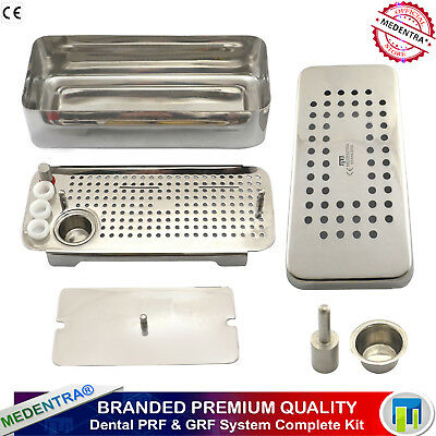 PRF & GRF BOX RICH FIBRIN PLATELET DENTAL IMPLANT RGF COMPLETE CASSETTE TRAY Lab