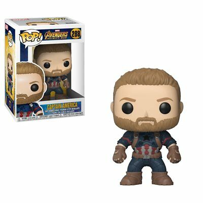 Funko Pop Marvel: Avengers Infinity War - Captain America Collectible Figure