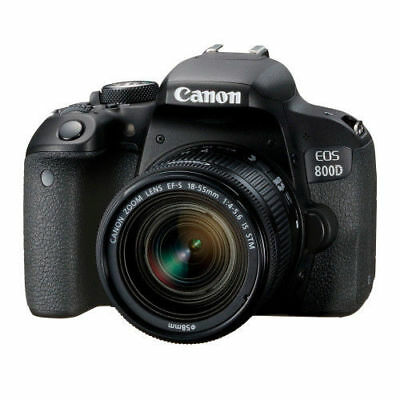 Nuevo Canon EOS 800D DSLR Camera w/ EF-S 18-55mm f/4-5.6 IS STM Lens Kit