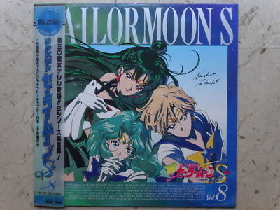 SAILOR MOON S Vol 8 LASERDISC HAND-SIGNED NAOKO TAKEUCHI VINILE LD ANIME VINYL