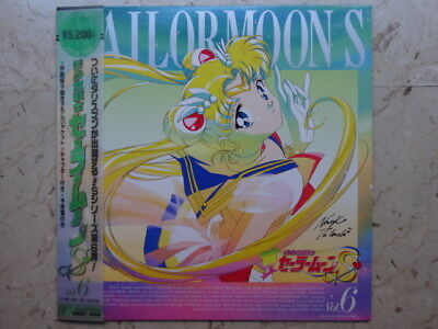 SAILOR MOON S Vol 6 LASERDISC HAND-SIGNED NAOKO TAKEUCHI VINILE LD ANIME VINYL