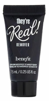NEW_GENUINE_Sealed_Benefit they're real Remover_TRAVEL SIZE 7.5ML_Waterproof