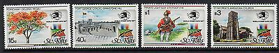 St.kitts Sg295/8 1989 World Stamp Expo Mnh