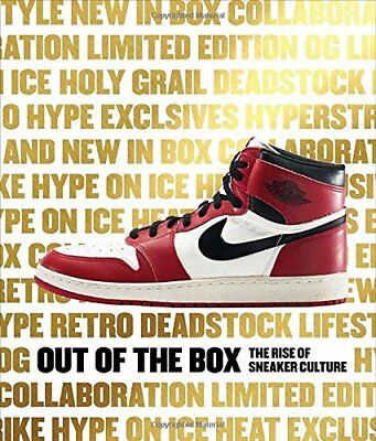 Out of the Box: The Rise of Sneaker Culture New Hardcover Book Elizabeth Semmelh