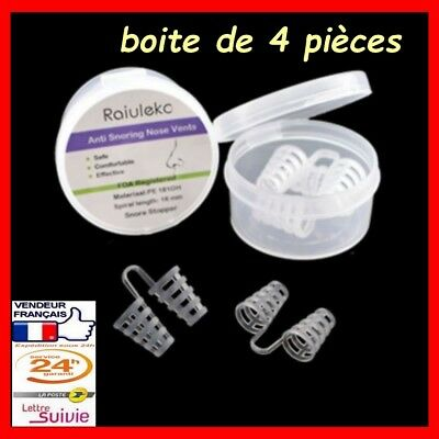 Cone pince nez X 4 anti ronflement aide sommeil
