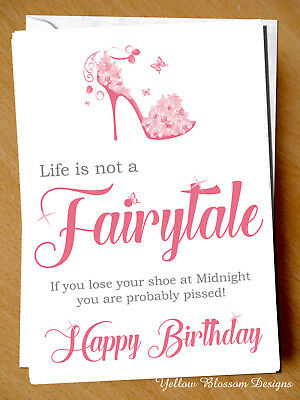 Funny Rude Sarcastic Birthday Card Best Friend Bestie Sister Cousin Aunt Cheeky