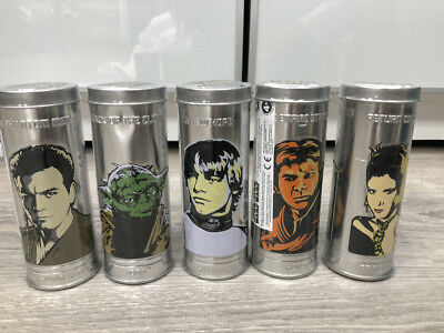 Star Wars BURGER KING Reversible Watches in Collector Tins Lot of 5 SEALED