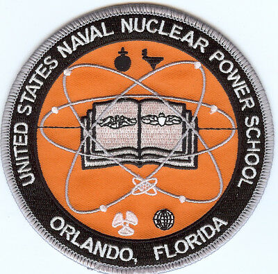 USN Nuclear Power School - Orlando FL - Submarine Training Patch - Cat No. C6753