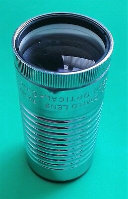 """VINTAGE SIMPSON OPTICAL 5/8"""" f/2.0 -16MM MOVIE WIDE ANGLE PROJECTOR LENS"""